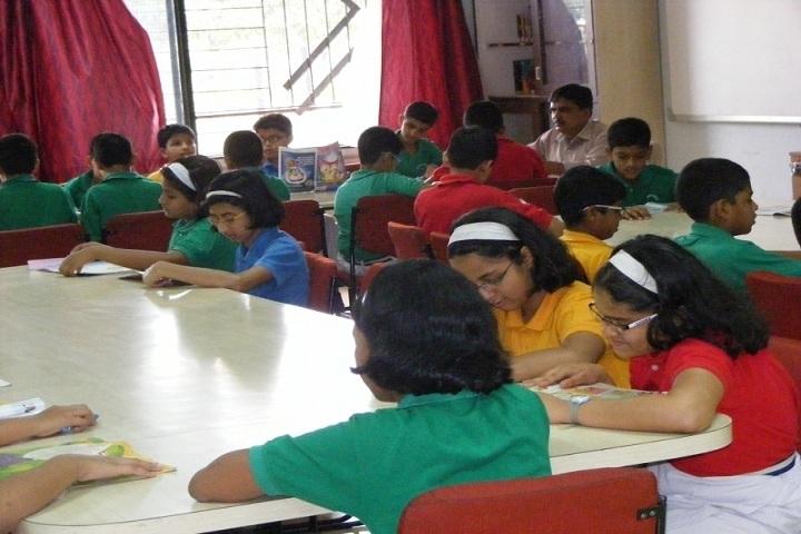Indira National School-Library