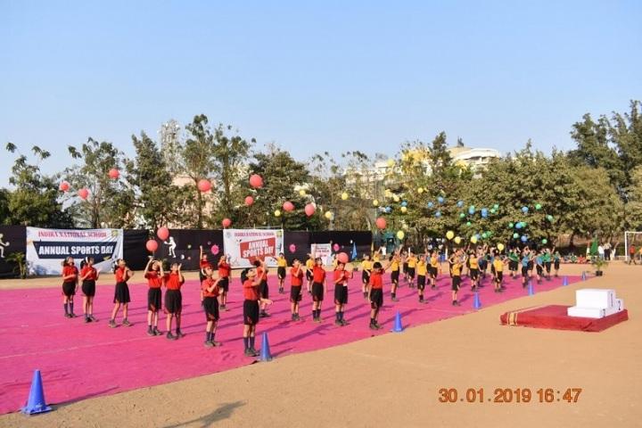 Indira National School-Sports Day