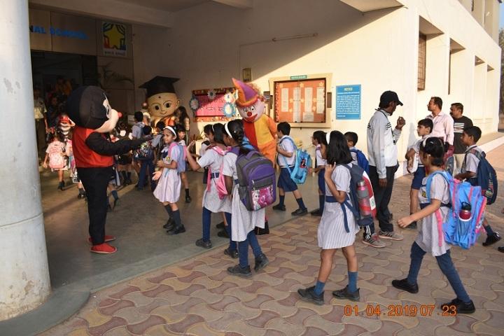 Indira National School-Welcome Day
