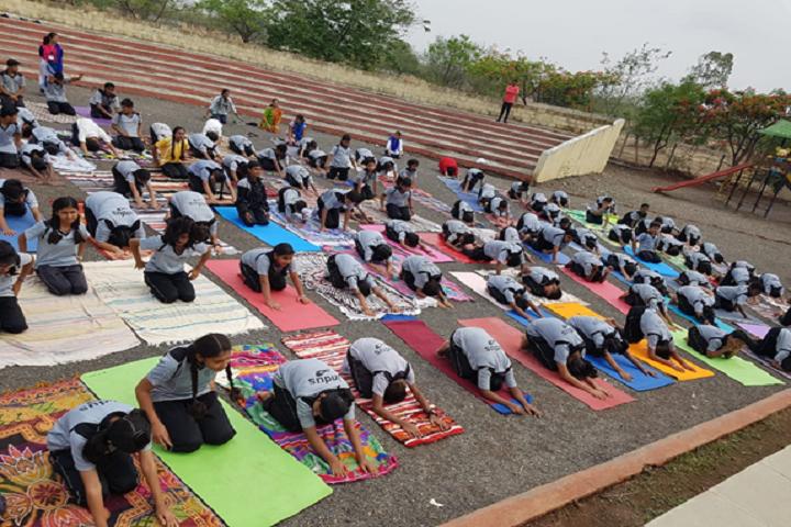 Indus World School-Yoga Day