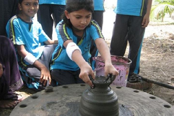Jain International School-Pottery