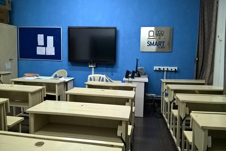Jawahar Navodaya Vidyalaya-Classroom smart