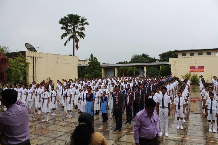 Jawahar Navodaya Vidyalaya-assembly area