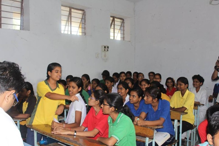 Jawahar Navodaya Vidyalaya classroom
