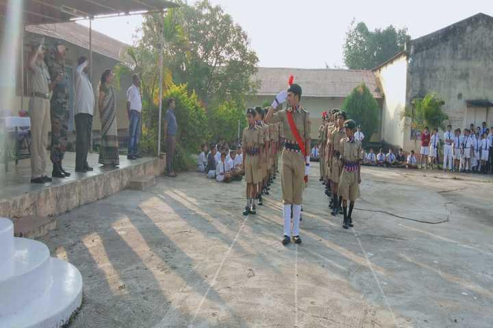 Jawahar Navodaya Vidyalaya-NCC