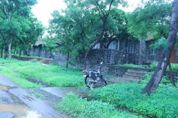 Jawahar Navodaya Vidyalaya-Dormitory Girls Outside