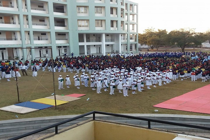 Jawaharlal Darda English Medium School-Assembly