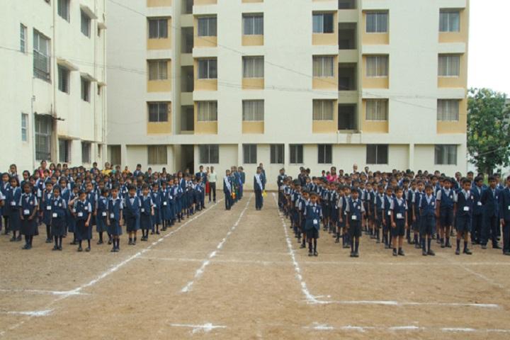 Jaywant International School-Assembly