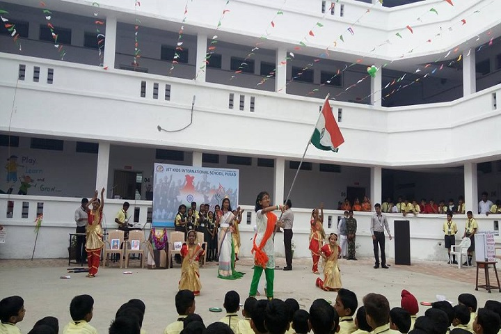 Jet Kids International School-Independence Day Celebrations