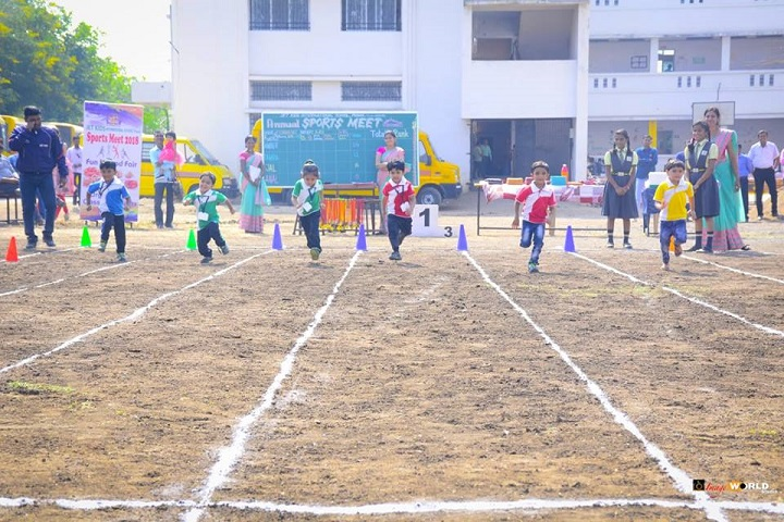 Jet Kids International School-Running Competition