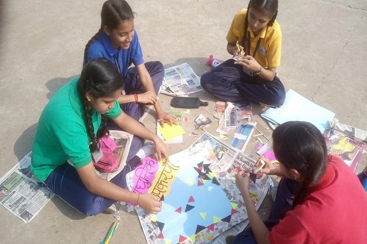 Jindal Mount Litera Zee School-Art Work