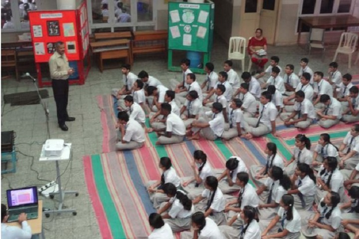 Jindal Vidya Mandir-Speech by Army Person