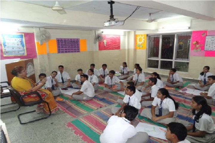 Jindal Vidya Mandir-Students Workshop