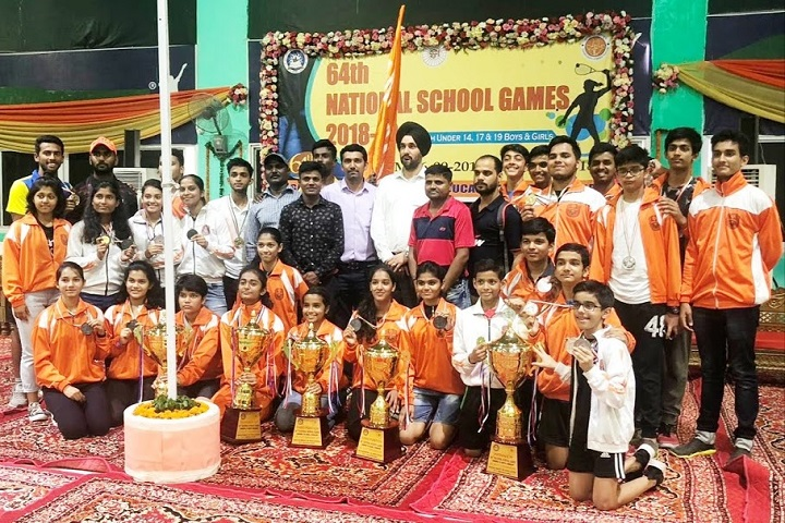 Jindal Vidya Mandir-Games Winners