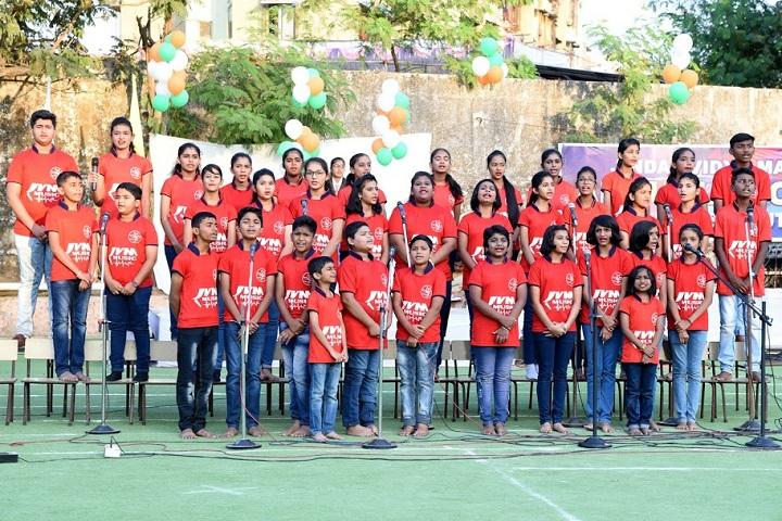 Jindal Vidya Mandir-Group Singing