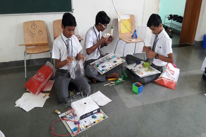 Jindal Vidya Mandir-Art & Craft Activity