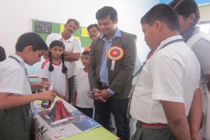 Jindal Vidya Mandir-Science Exhibition