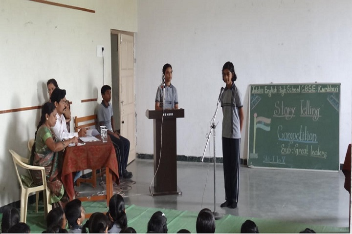 Jubli English High School-Story Telling Competition