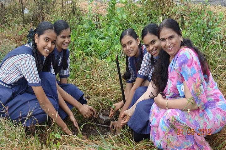 Jubli English High School-Tree Plantation
