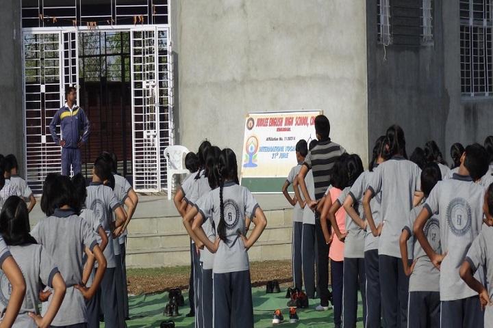 Jubli English High School-Yoga