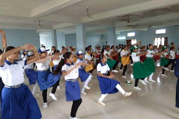 K P Asati Public School-Dance Room