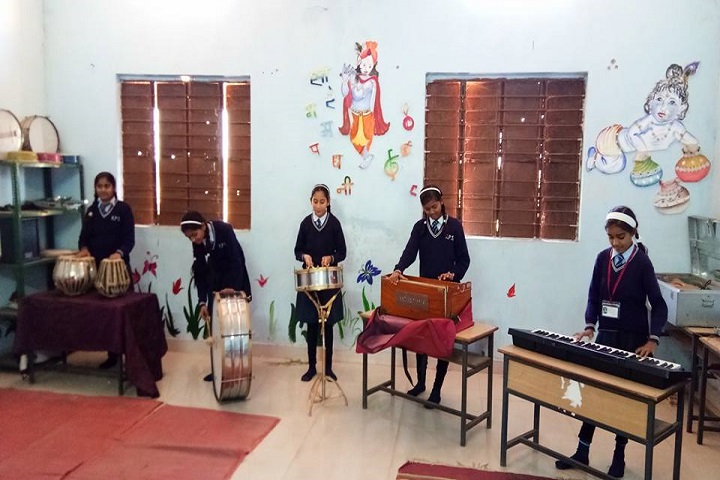 K P Asati Public School-Music room