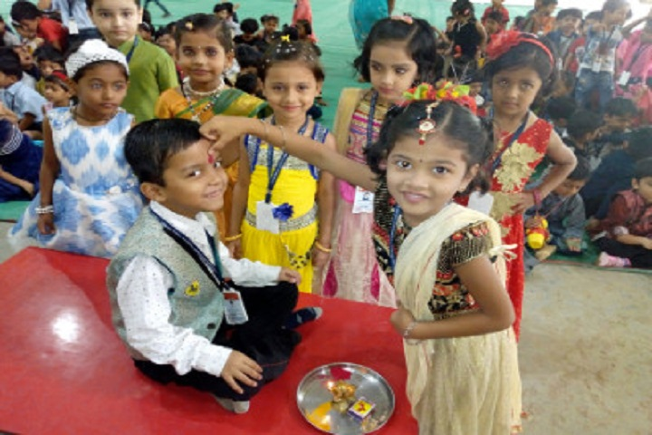 Kashinath Palod Public School-Rakhi Celebrations