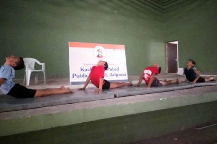 Kashinath Palod Public School-Yoga Day