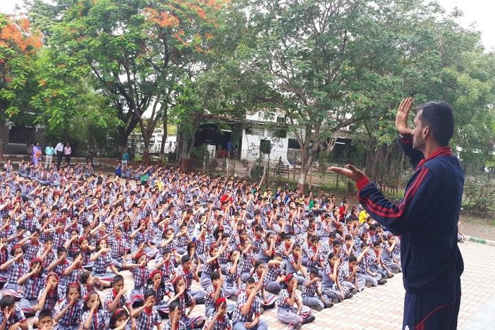 Kendriya Vidyalaya-Yoga Day Celebrations