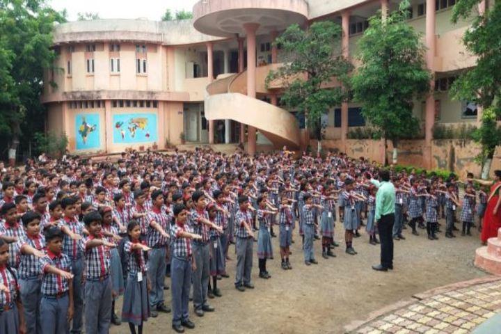 Kendriya Vidyalaya-Morning Assembly
