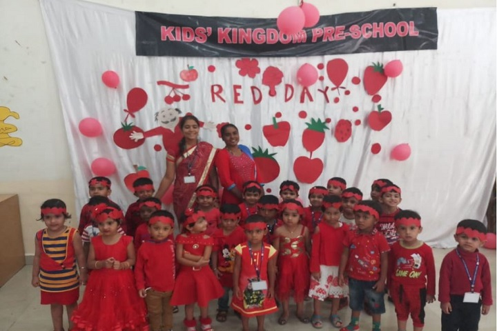 Kids Kingdom Public School-Red Day
