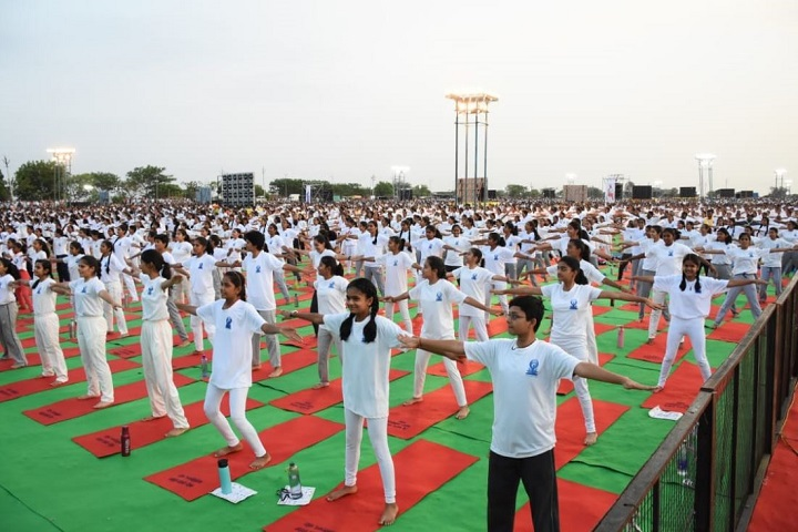 Kids Kingdom Public School-Yoga Day