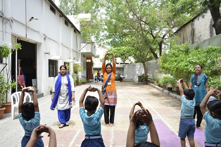 Kids Kingdom Public School-Yoga