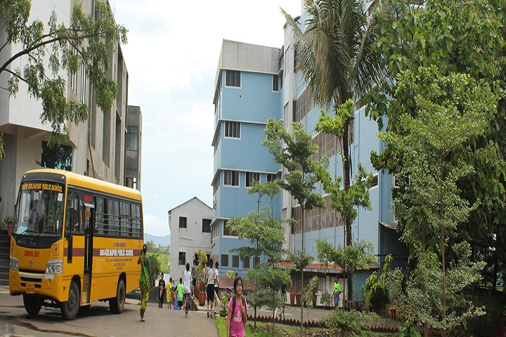 Kolhapur Public School-Campus-View entrance