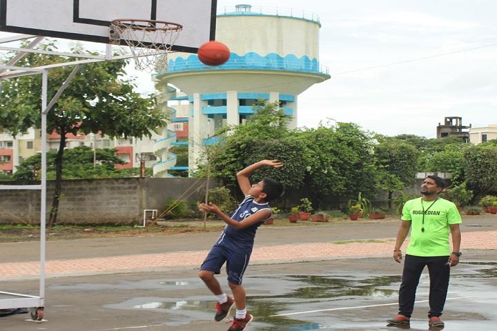 Kolhapur Public School-Sports basketball