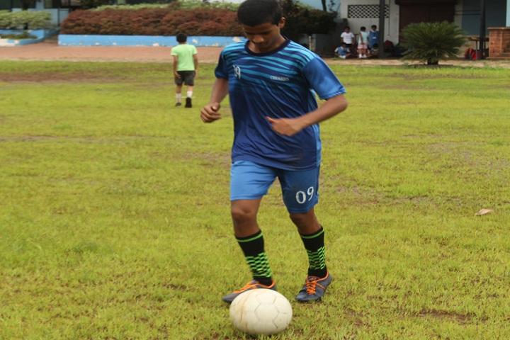 Kolhapur Public School-Sports football