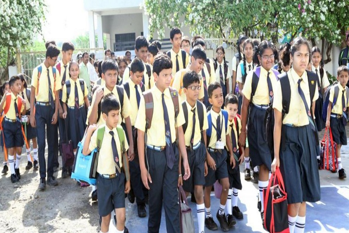 Lalitha Public School-Students