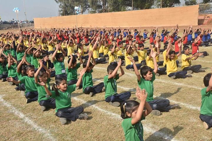 Mahapragya Public School-Yoga