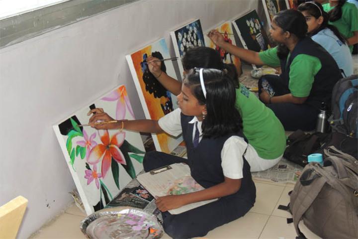 Maharashtra Public School-Drawing Competition