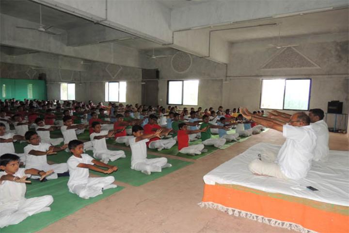 Maharashtra Public School-International Yoga Day