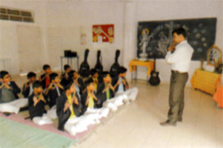 Maharashtra Public School-Music Class