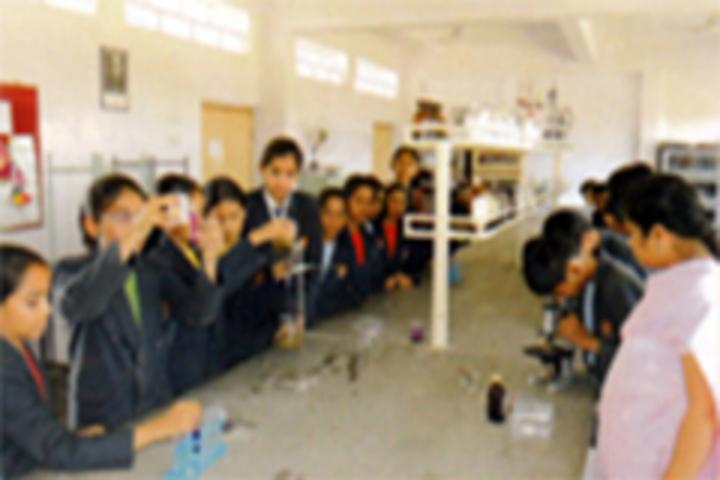 Maharashtra Public School-Science Lab