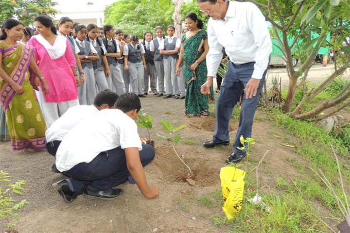 Maharashtra Public School-Tree Plantation