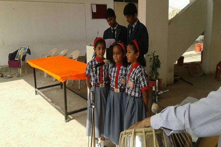 Mahatma Gandhi English School-Singing