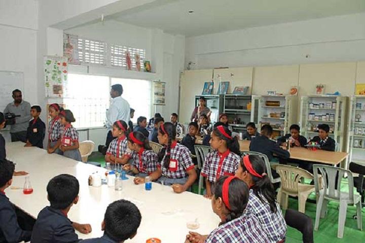 Mahatma Gandhi English School-Science lab
