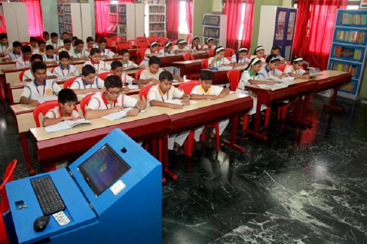 Mahatma International School-Library