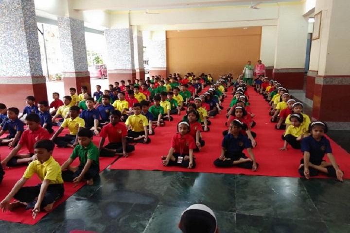 Mahatma International School-Yoga day