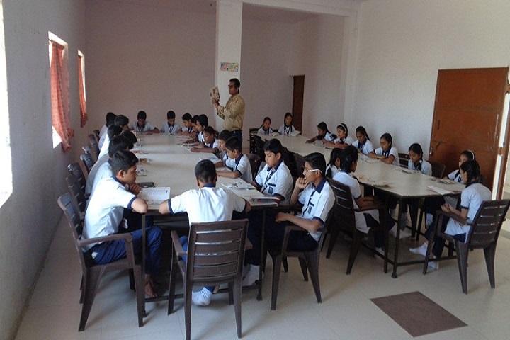 Mahavir English School-Library