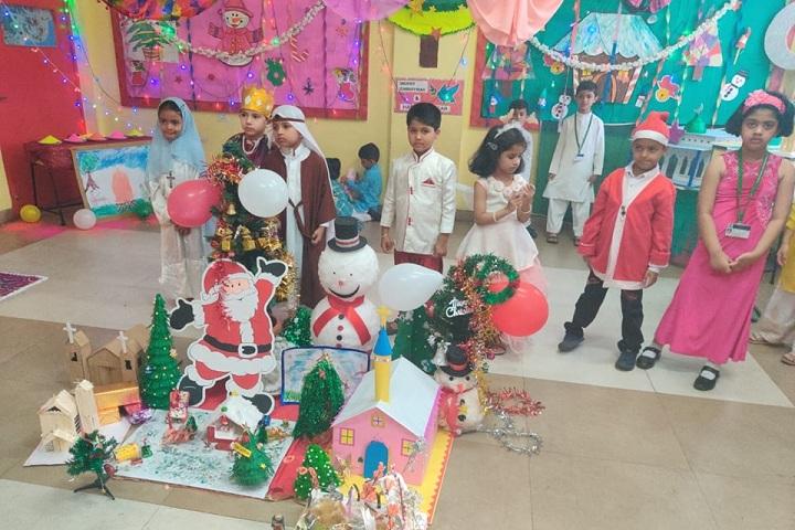 Mansukhbhai Kothari National School-Christmas