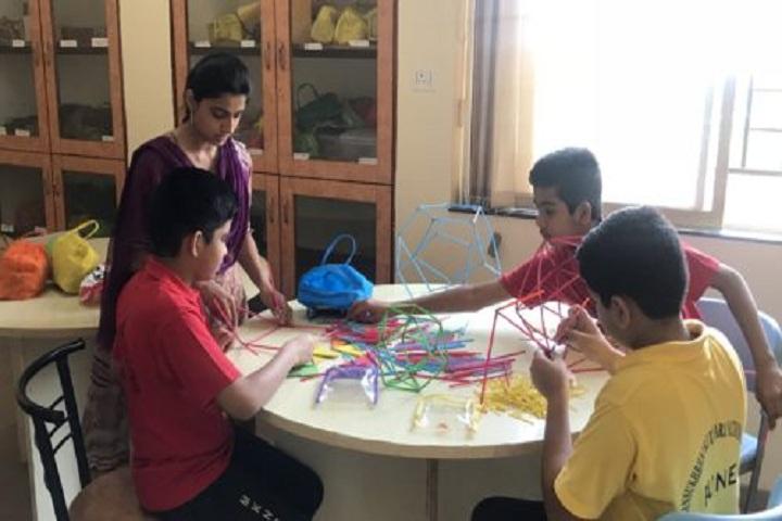 Mansukhbhai Kothari National School-Maths-Lab